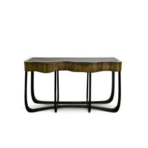 Sinuous Patina Console Table