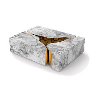 Lapiaz Marble Center Table