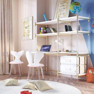 Puzzled Bookcase Desk