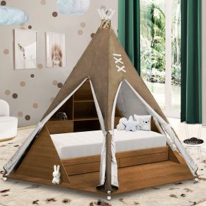 Teepee Tent Bed